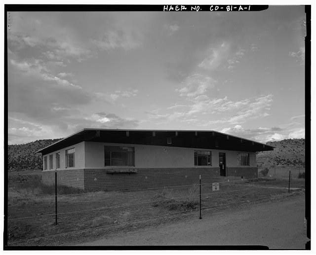 Naturita, Colorado, Processing Site, UMTRCA Title I site