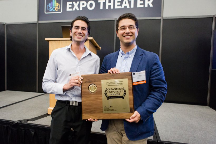 Infinite Cooling wins 2017 Cleantech UP competition