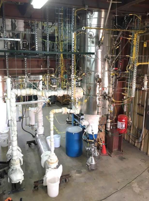 Hazen Research pilot plant