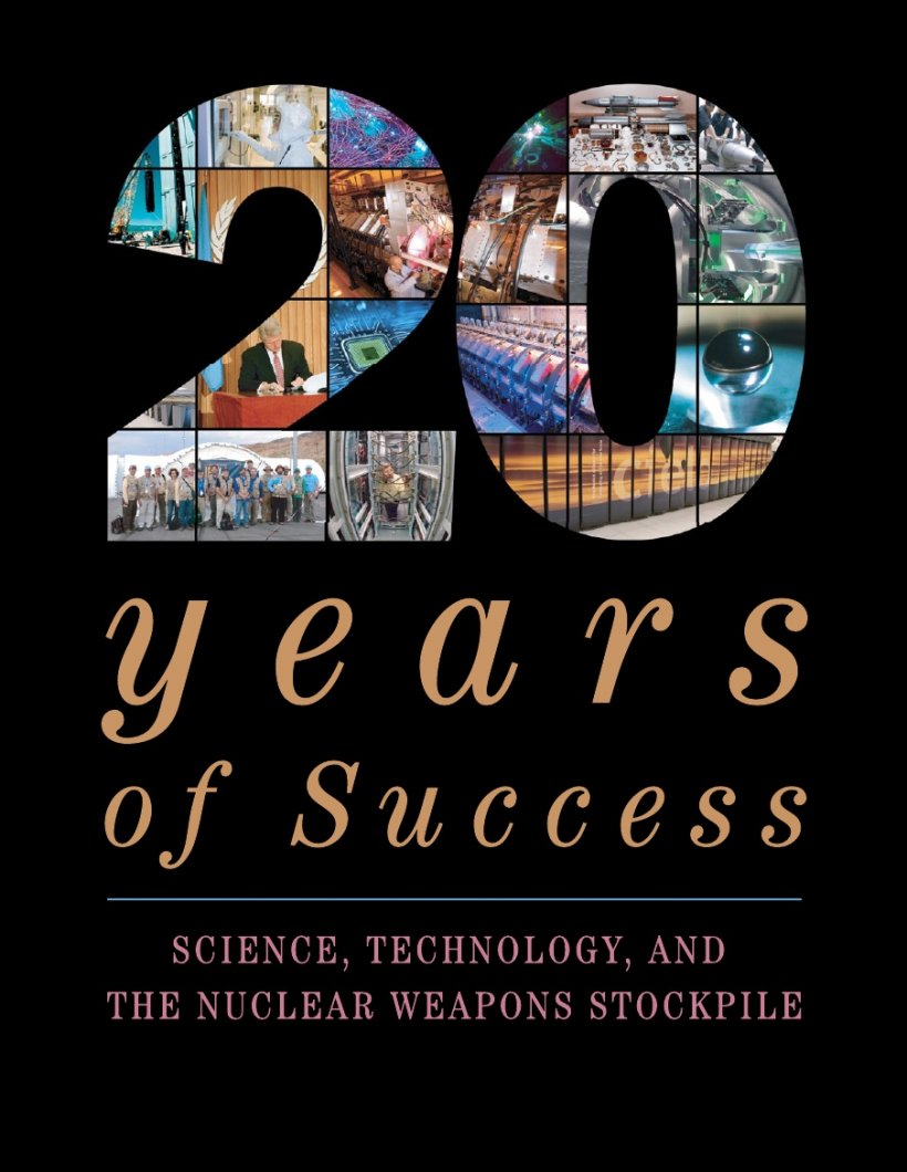 A look back at 20 years of the Stockpile Stewardship Program