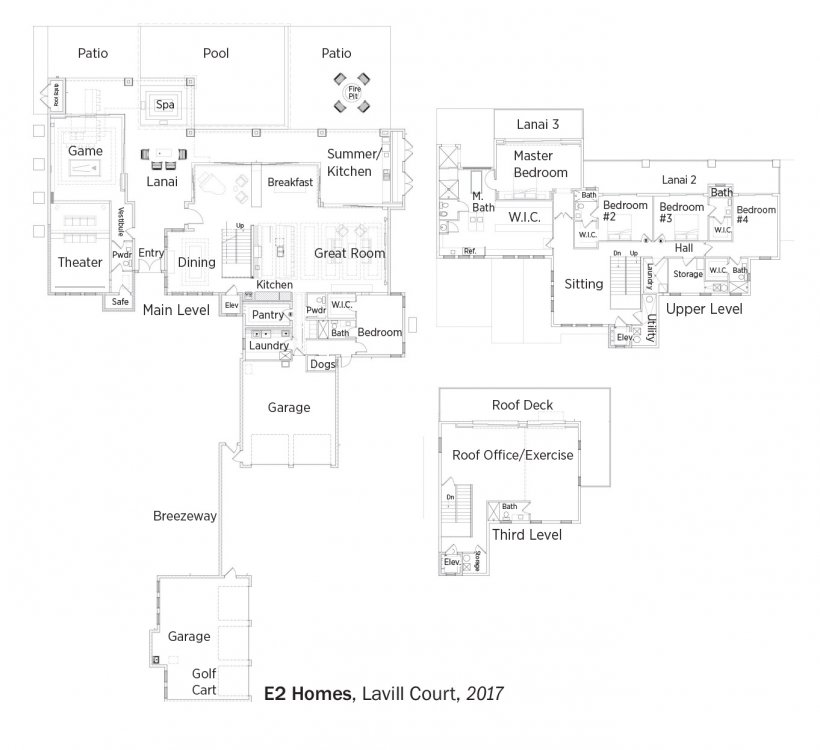 Floorplans for Lavill Court by e2 Homes.