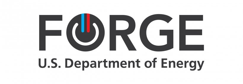 FORGE logo, U.S. Department of Energy