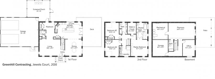 DOE Tour of Zero: Jewels Court by Greenhill Contracting floorplans.