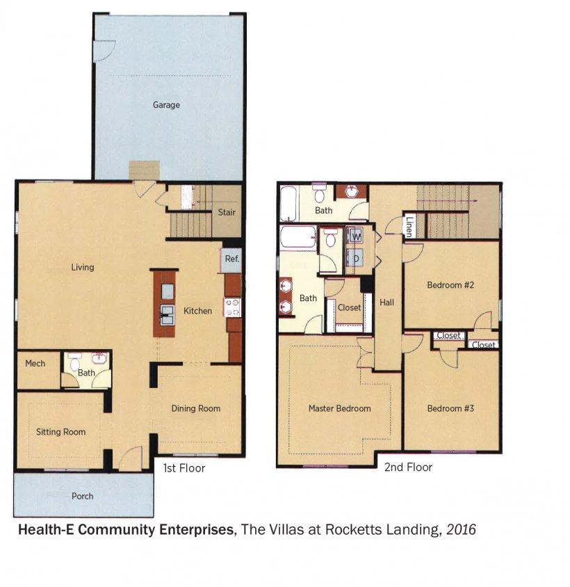 Health-E Community floorplans.