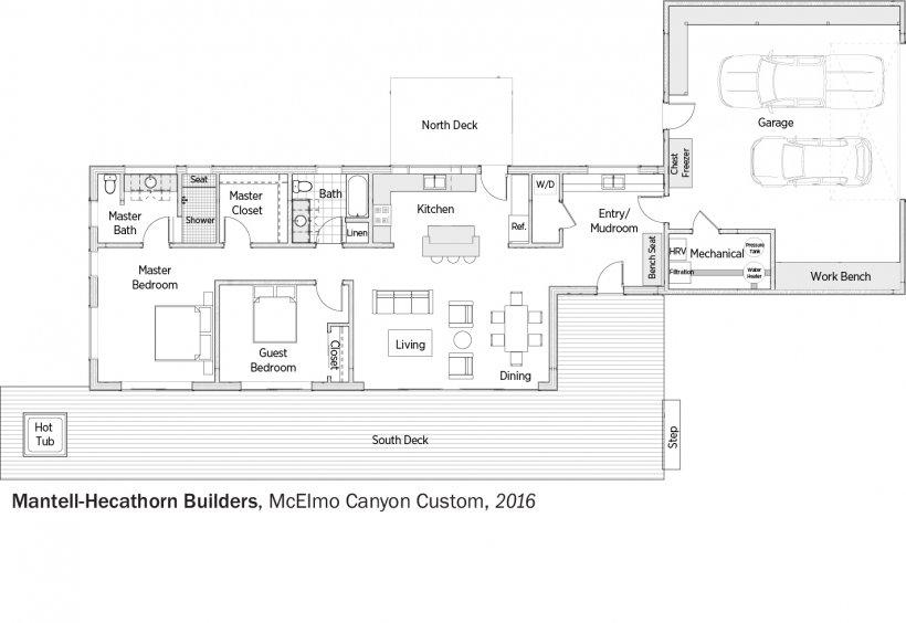 DOE Tour of Zero: Cortez Custom by Mantell-Hecathorn Builders floorplans.