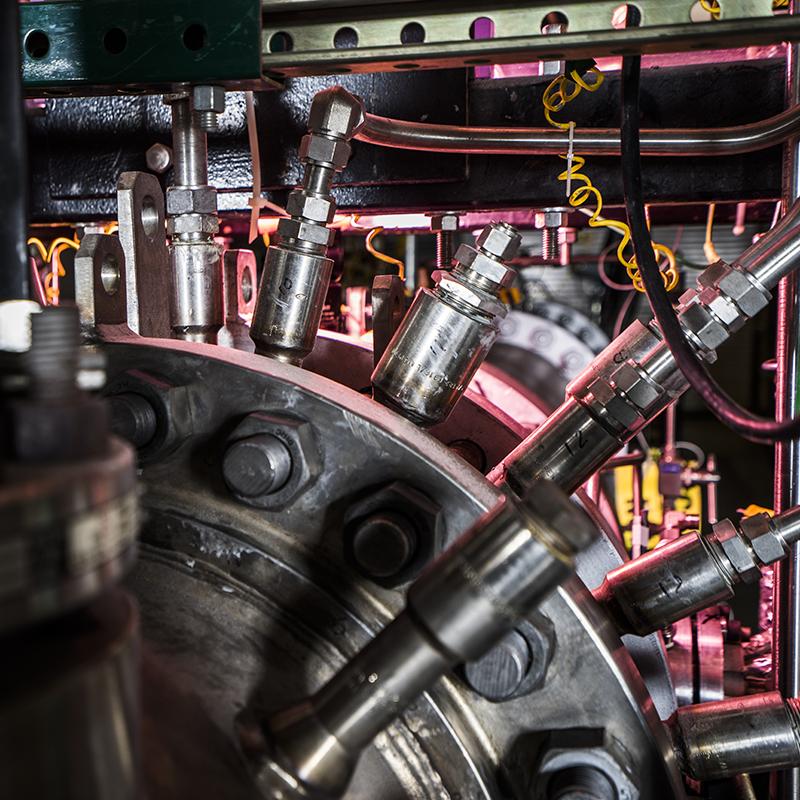 NETL Dynamic Gas Turbine Combustion Test