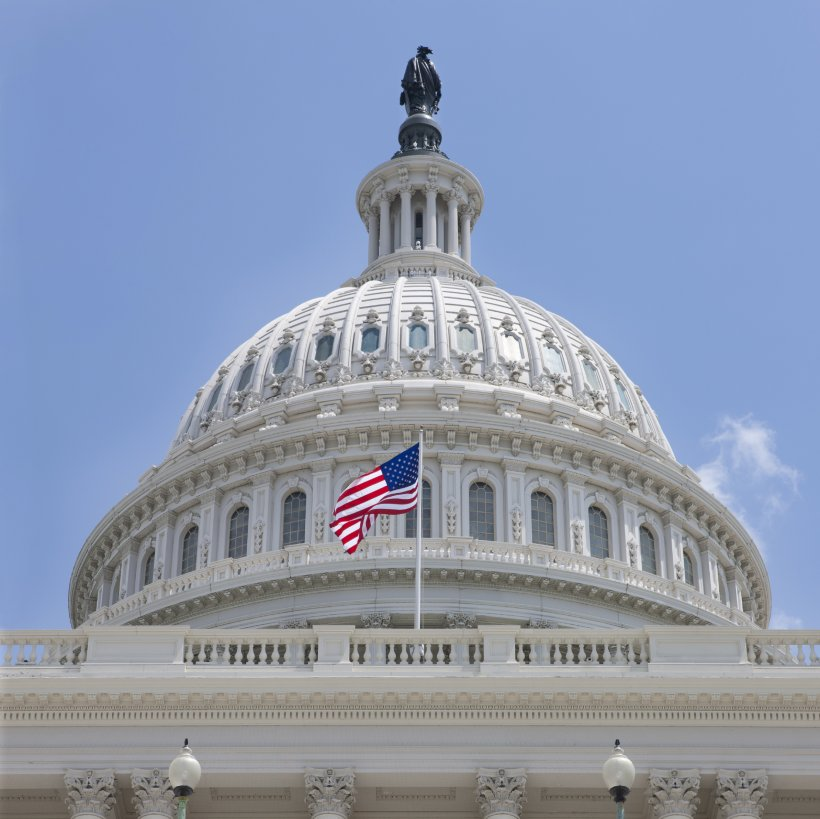 Photo of the national capitol.