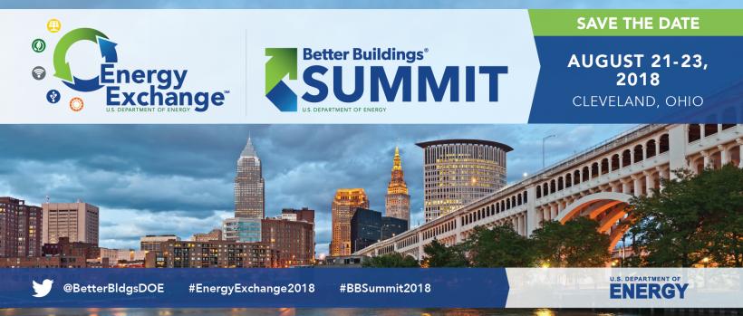 Better Buildings Summit 2018 banner