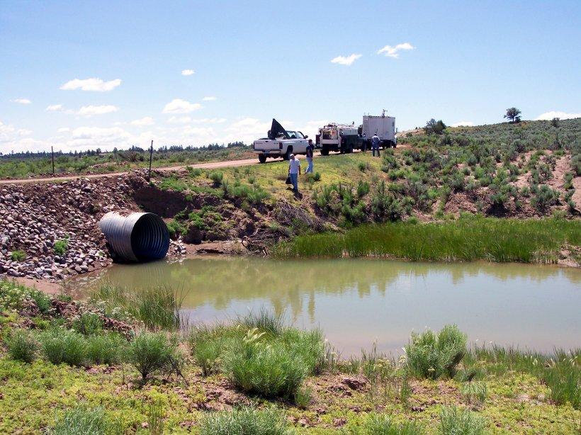 Gasbuggy, New Mexico, Site