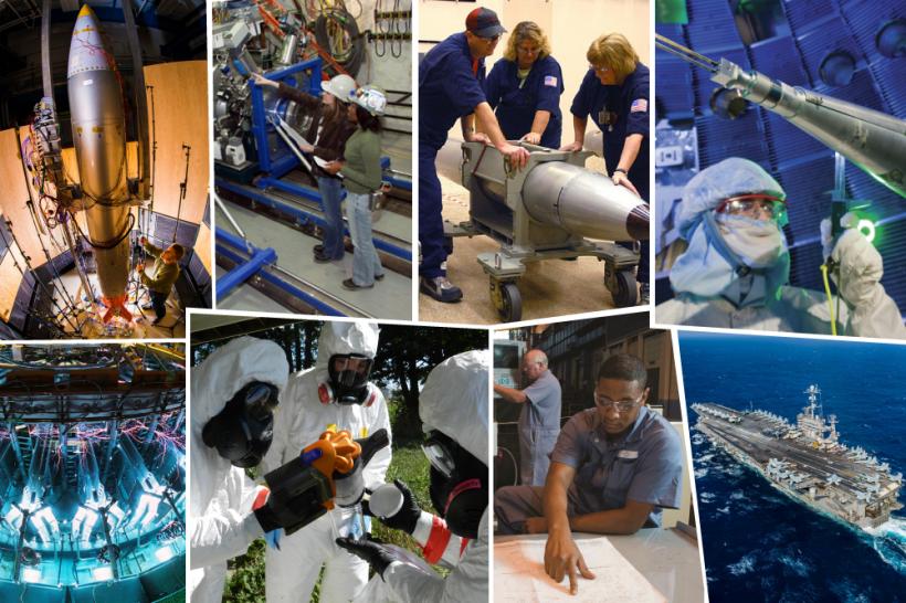 NNSA mission collage