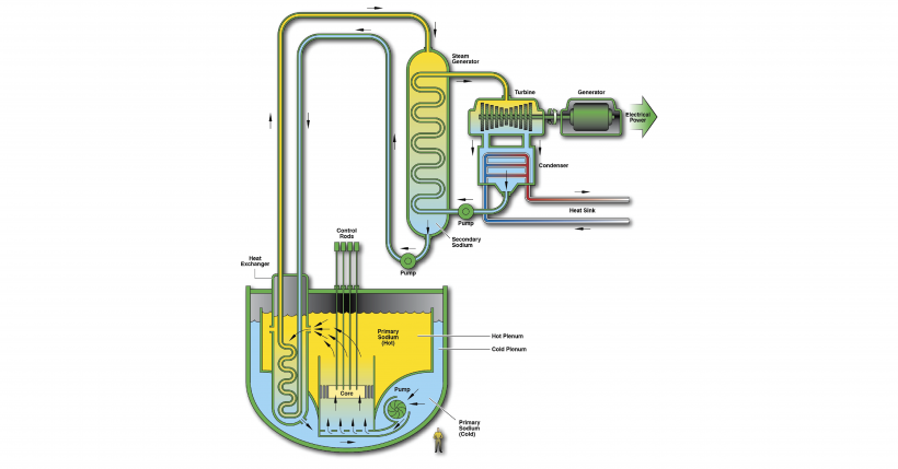 A concept design of a sodium-cooled fast reactor
