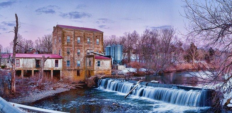 Photo of Weisenberger Mill in Kentucky.