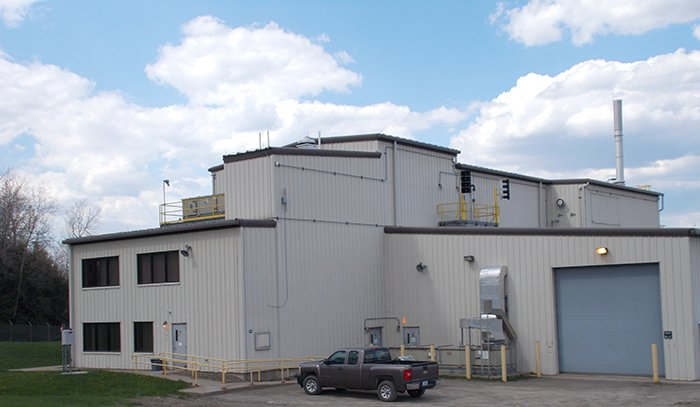 The Remote-Handled Waste Facility at the West Valley Demonstration Project site.