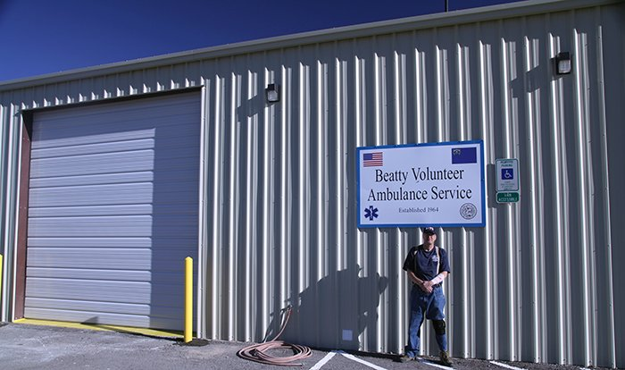 The EM Nevada Program funds a grant to support emergency response capabilities in communities near the Nevada National Security Site (NNSS).