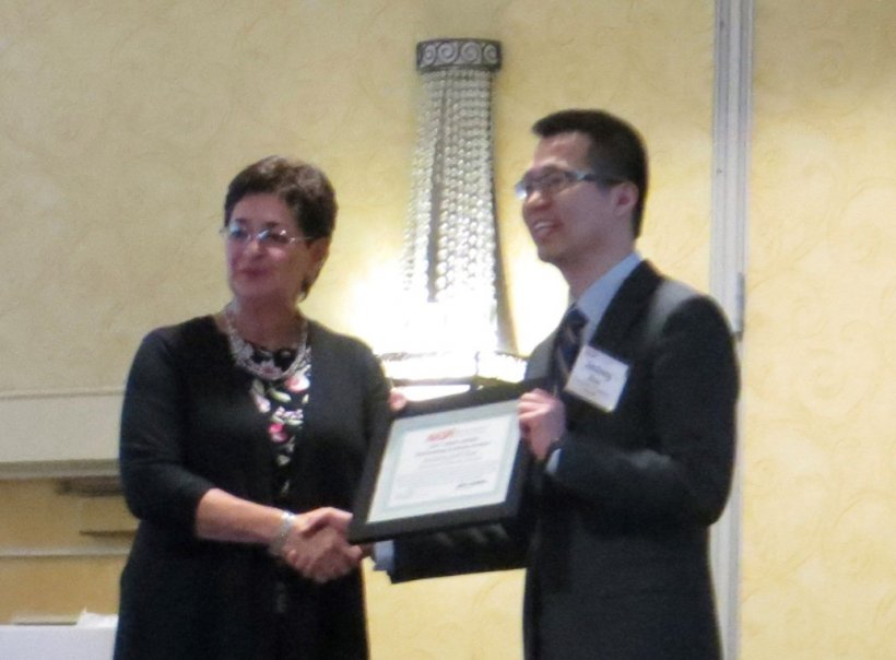 Alison Silverstein (NASPI Project Manager) and Jiecheng (Jeff) Zhao (UT Knoxville)
