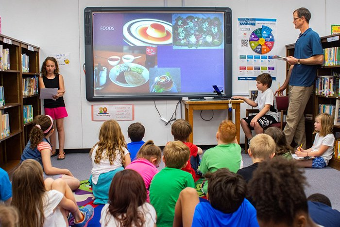 Students spent weeks researching, writing, developing presentations, and practicing public speaking.