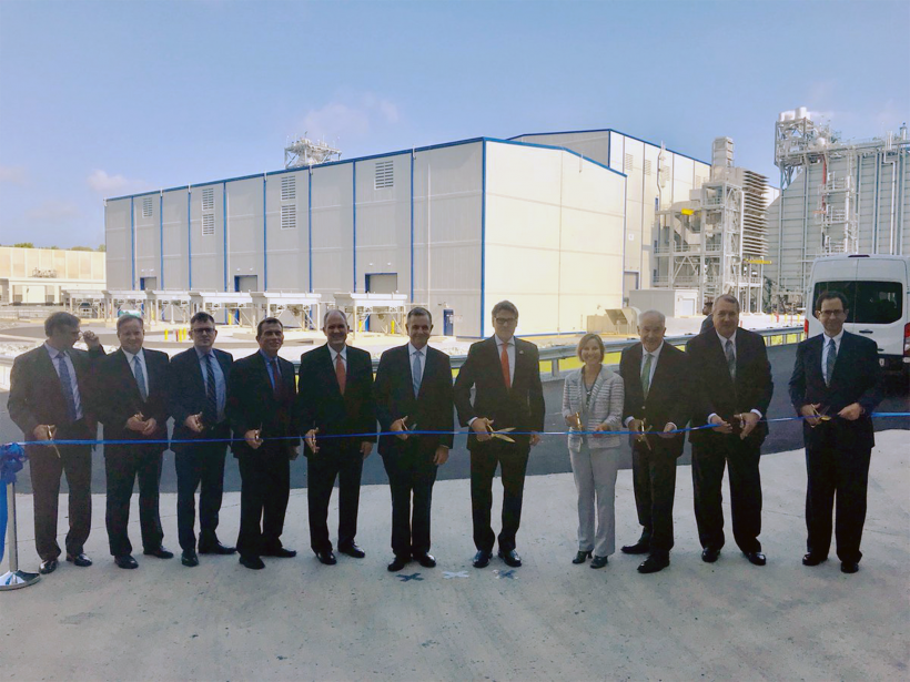 Secretary Perry at Cove Point LNG export facility  opening