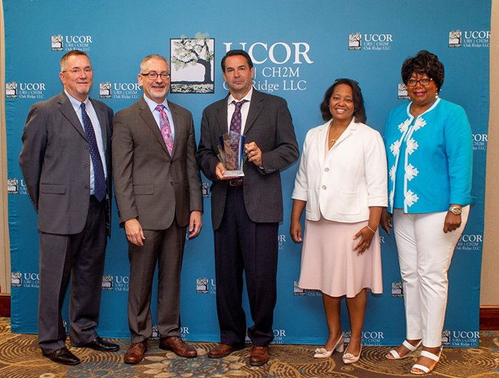 PacTec Inc. of Clinton, Louisiana, was named URS|CH2M Oak Ridge's (UCOR) 2018 Small Business of the Year.