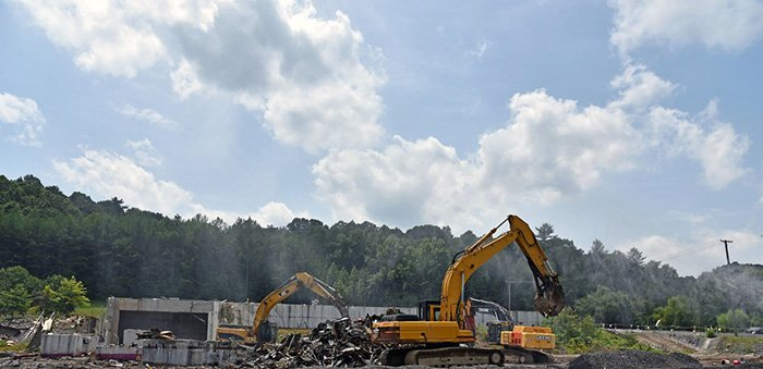 After the Toxic Substances Control Act Incinerator demolition.