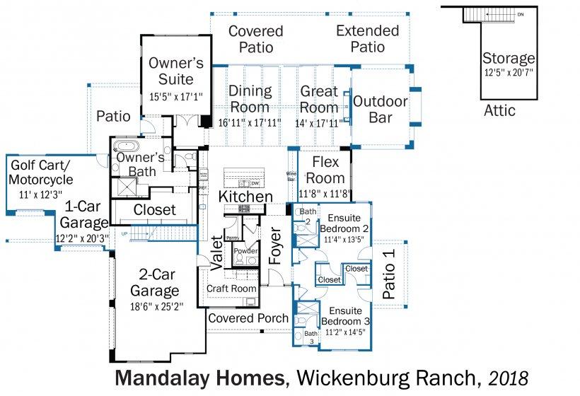DOE Tour of Zero: Wickenburg Ranch by Mandalay Homes floorplans.