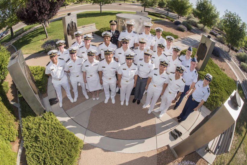 Service academy students at Sandia National Laboratories in New Mexico.