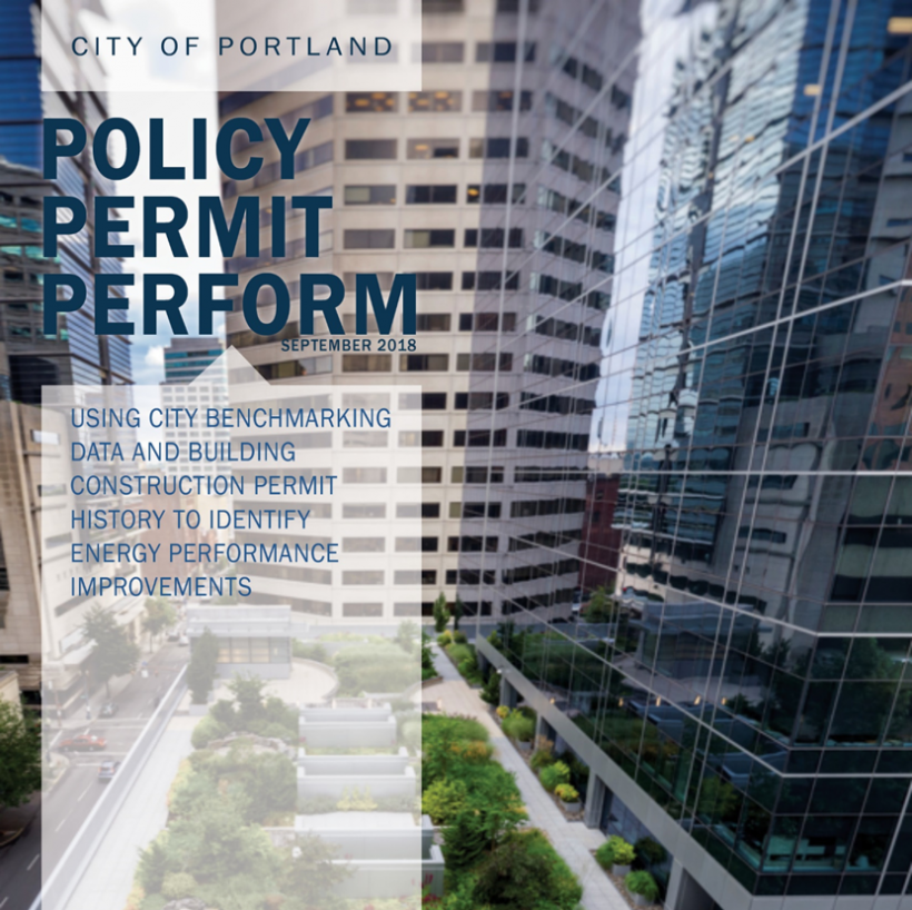 Cities-LEAP Portland Project Final Report Cover Image