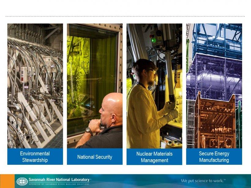 Savannah River National Laboratory graphic