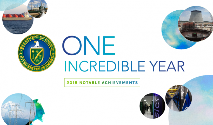 2018 Energy Department Accomplishments