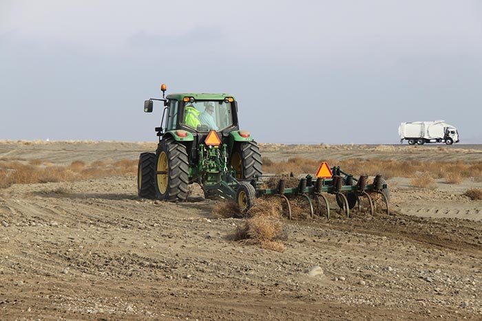Revegetation is complete for Hanford's former 618-10 burial ground, representing the culmination of years of work to reduce a significant risk to groundwater and the nearby Columbia River.
