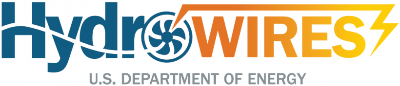 Logo for HydroWIRES Initiative.