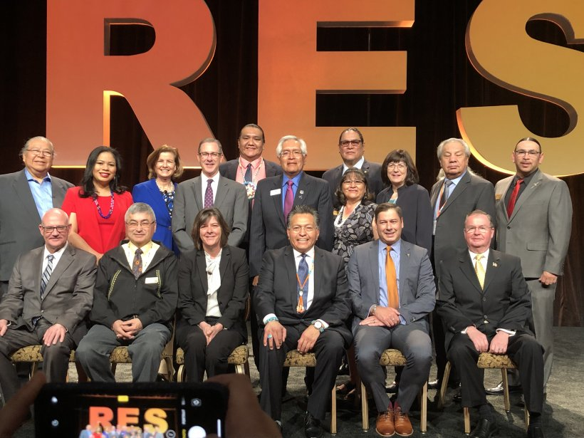 Steve at the Reservation Economic SUmmit