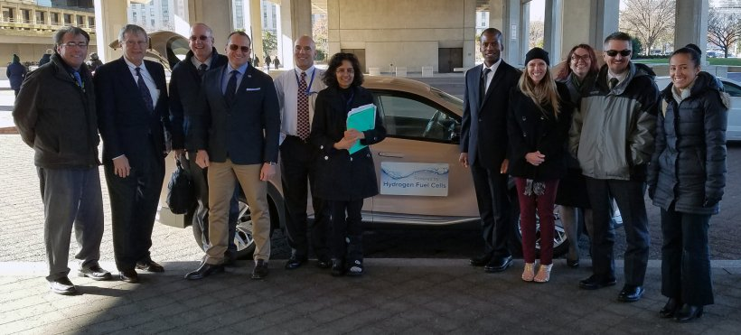 Energy Vets 2018 hydrogen fuel cell
