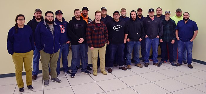 A crew of commissioning technicians recently graduated from fundamentals training at a simulator to running systems at Hanford's Waste Treatment and Immobilization Plant.