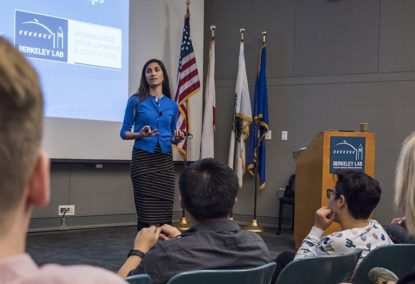Laleh Cote works at Lawrence Berkeley National Laboratory