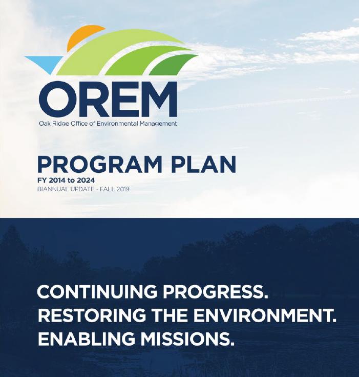 OREM's 10-year program plan