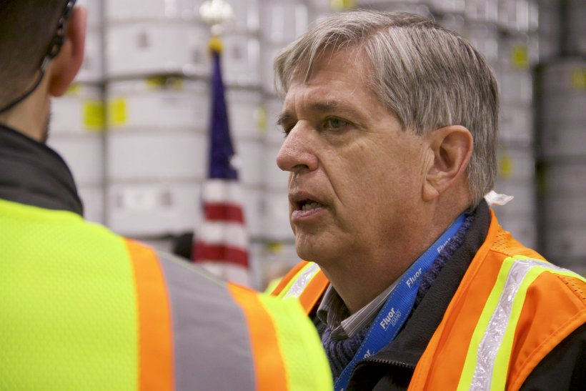 Fluor Idaho President Fred Hughes has come full circle at the Advanced Mixed Waste Treatment Project, having been involved at the facility from its infancy to the near completion of its transuranic waste debris treatment mission.