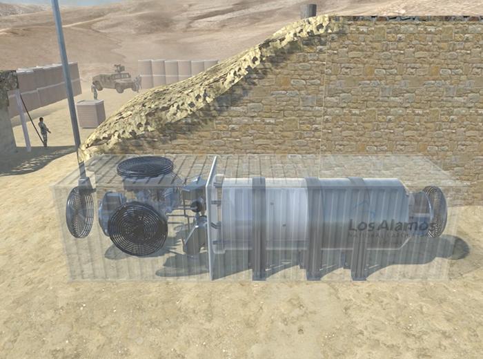 remote location microreactor