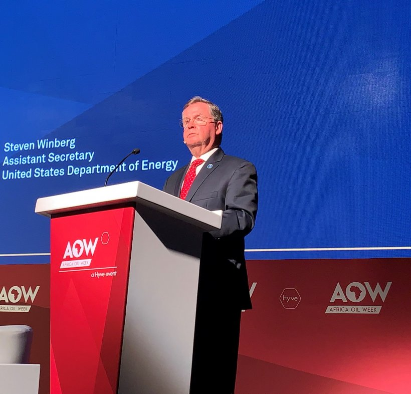 Assistant Secretary for Fossil Energy Steven Winberg AOW 2019