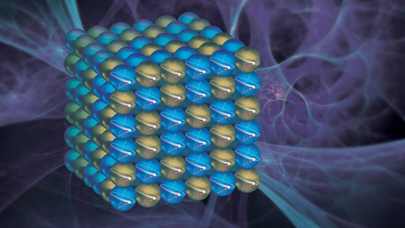 The interactions between electron spin and an external magnetic field allowed control how the material can dissipate energy – like controlling the drag on a car as it drives into head versus side winds.