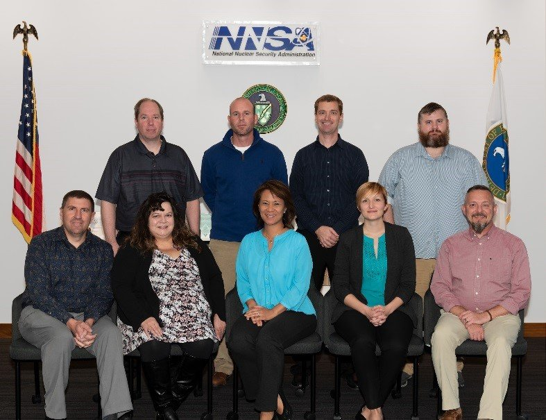 NNSA's Mid-Level Leadership Development Program participants took part in training in Kansas City.