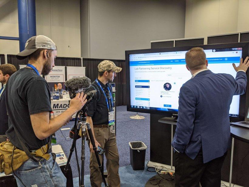 SpaceCom Lab Partnering Service Demo