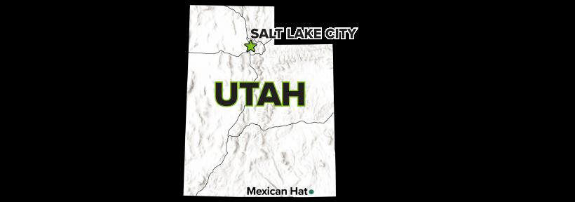 Mexican Hat, Utah, Disposal Site Map