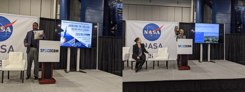 SpaceCom 2019 NASA Demo Presentations