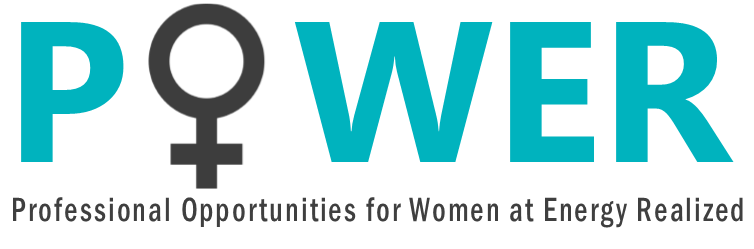 Professional Opportunities for Women at Energy Realized (POWER) logo.
