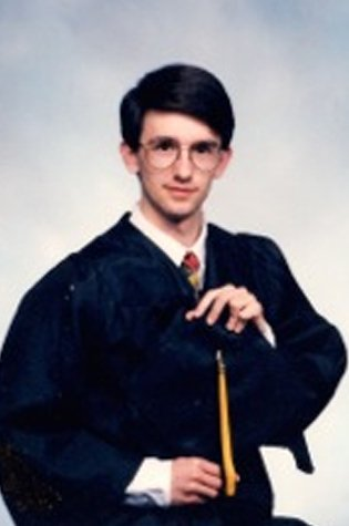 A past picture of 1992 National Science Bowl Champion Jason Tumlinson.