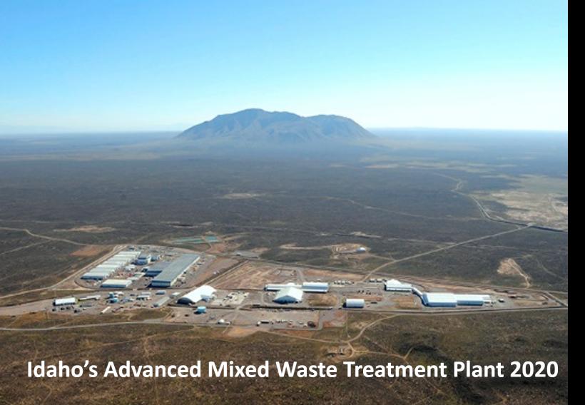 Idaho's Advanced Mixed Waste Treatment Plant 2020
