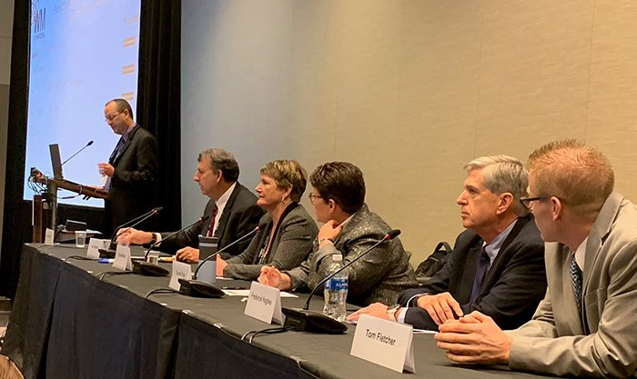EM headquarters and field site officials at the Waste Management Symposia discussed the start up of major liquid waste treatment facilities.