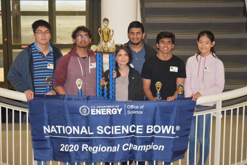 Science Bowl 1st Place Winner
