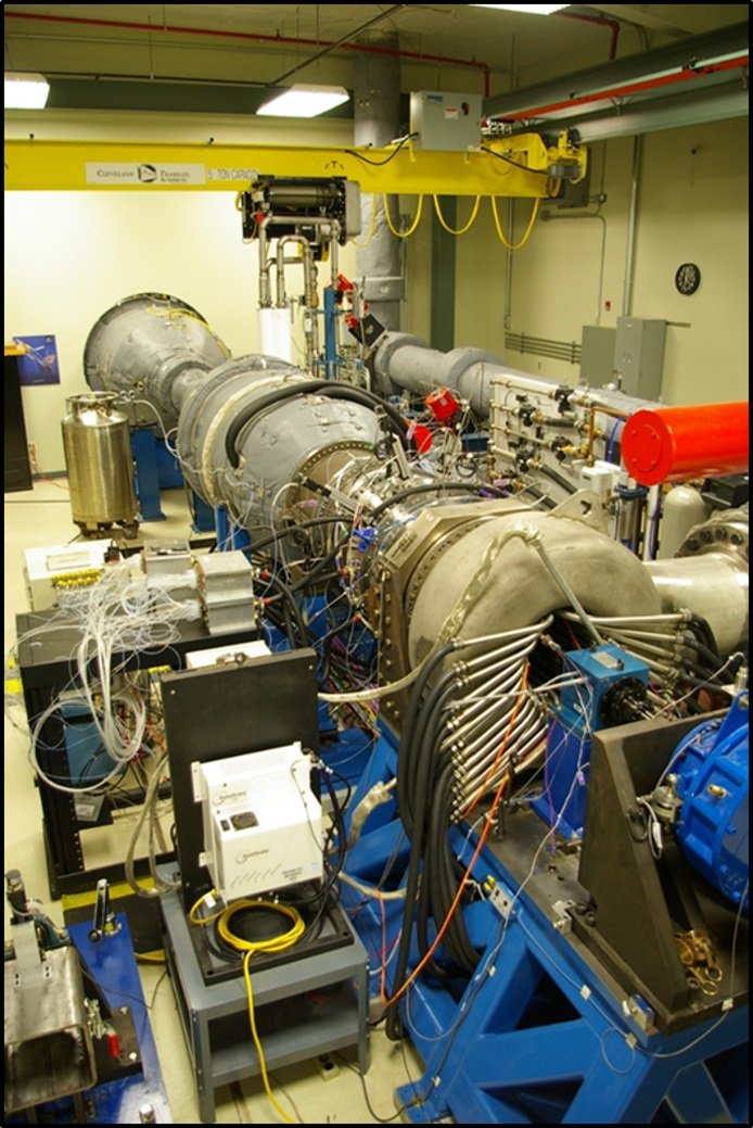 START Rig at Penn State-1.5 stage fully instrumented rotating steady state operation