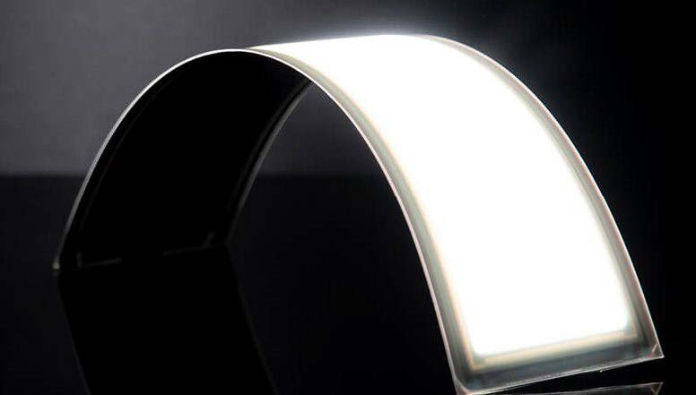 Arc-shaped lighting technology.